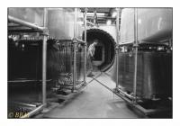 Autoclave pour la recuisson des pare-brise en verre feuilleté, Splintex-Glaverbel, Gilly, Belgique, 1988 - argentique