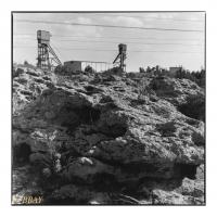 Miniera Nuraxi Figus, Carbonia, Sardegna, Italia, 1997 - argentique