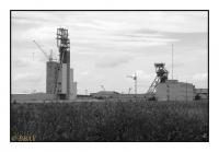 Construction d'un nouveau charbonnage, Waxta HB10, Novovolynsk, Ukraina, 2011 - numérique