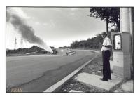 Puits géothermique, Larderello, Toscana, Italia, 1996 - argentique