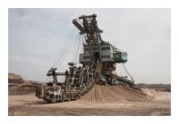 Excavateur à chaînes à godets, Tagebau Profen, Mibrag, Profen, Sachsen-Anhalt, Deutschland, 2012 - numérique
