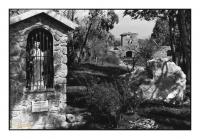 Sainte Barbe du Pozzo Camorra, Miniera di Ribolla, Roccastrada, Toscana, Italia, 2005 - argentique