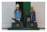 Saint Pokrop et Sainte Barbe – protecteurs des mineurs, Důl Vilém, Krásno, Ceska Republica, 2013 – numérique